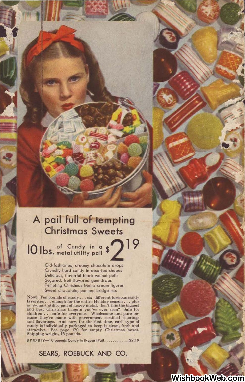 Old fashioned hard christmas candy mix 46