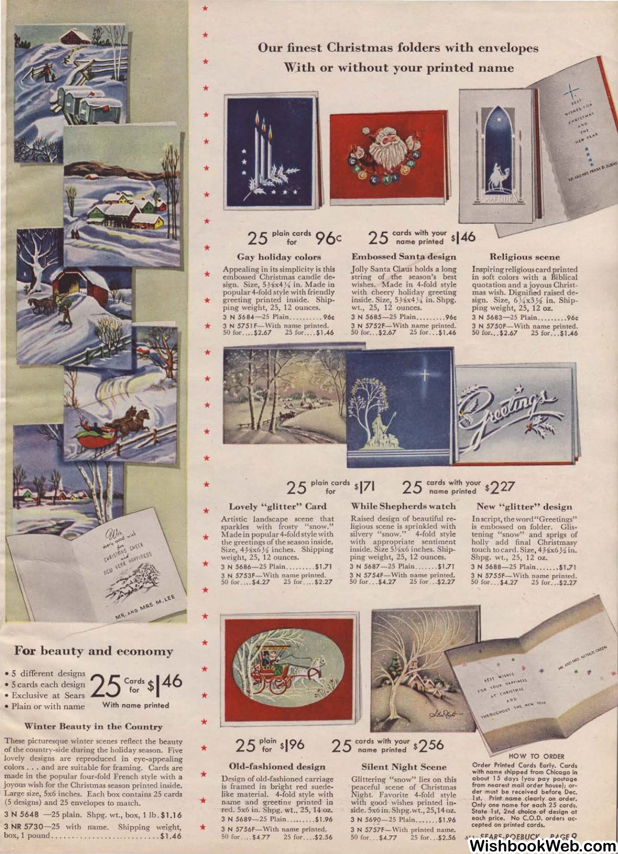 1945 Sears Fall Winter Catalog, Page 121 - Christmas