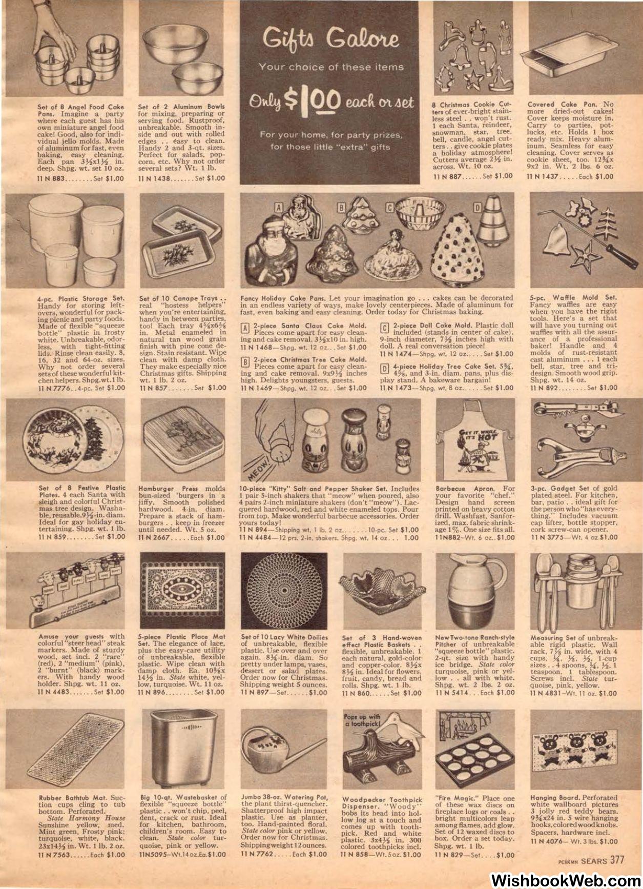 1957 Sears Christmas Book