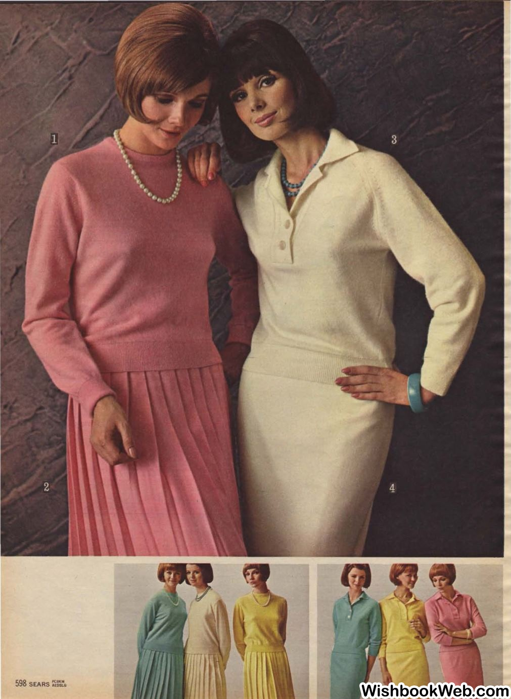 Womens fashion in the 60s 53
