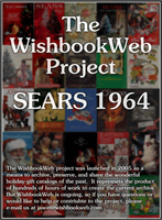 Sears Christmas Catalog.1964 Sears Christmas Book
