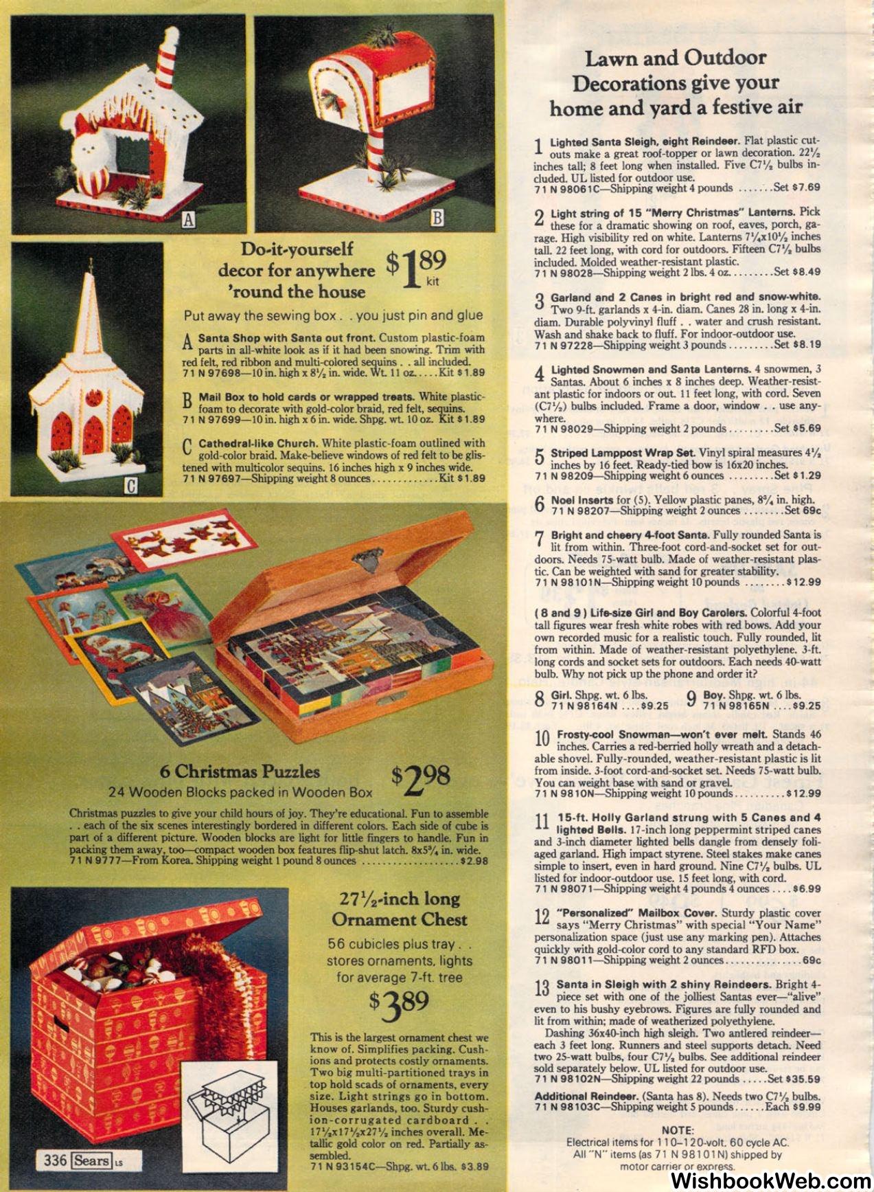 1972 Sears Wishbook