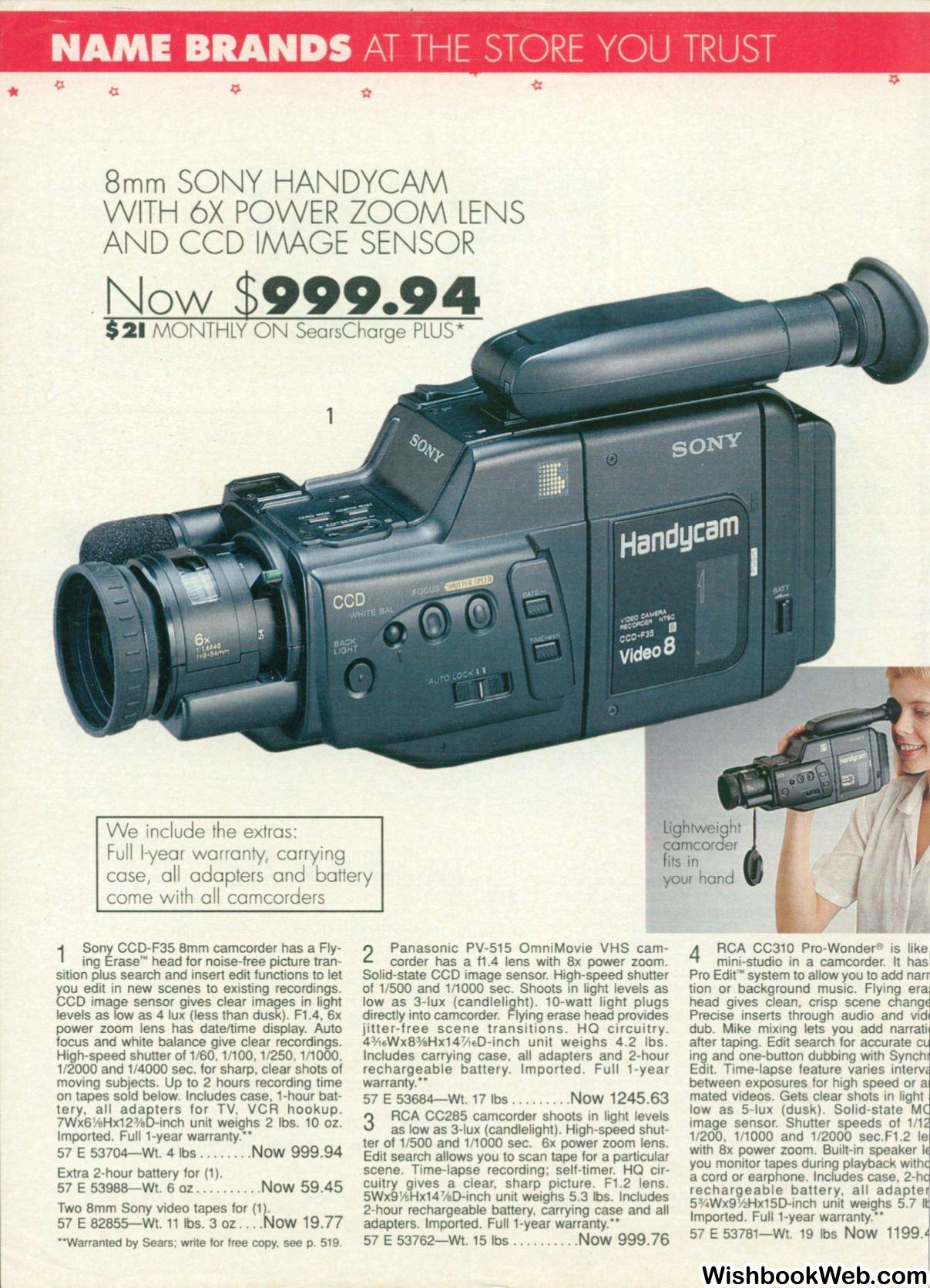 1989 Sears Wishbook