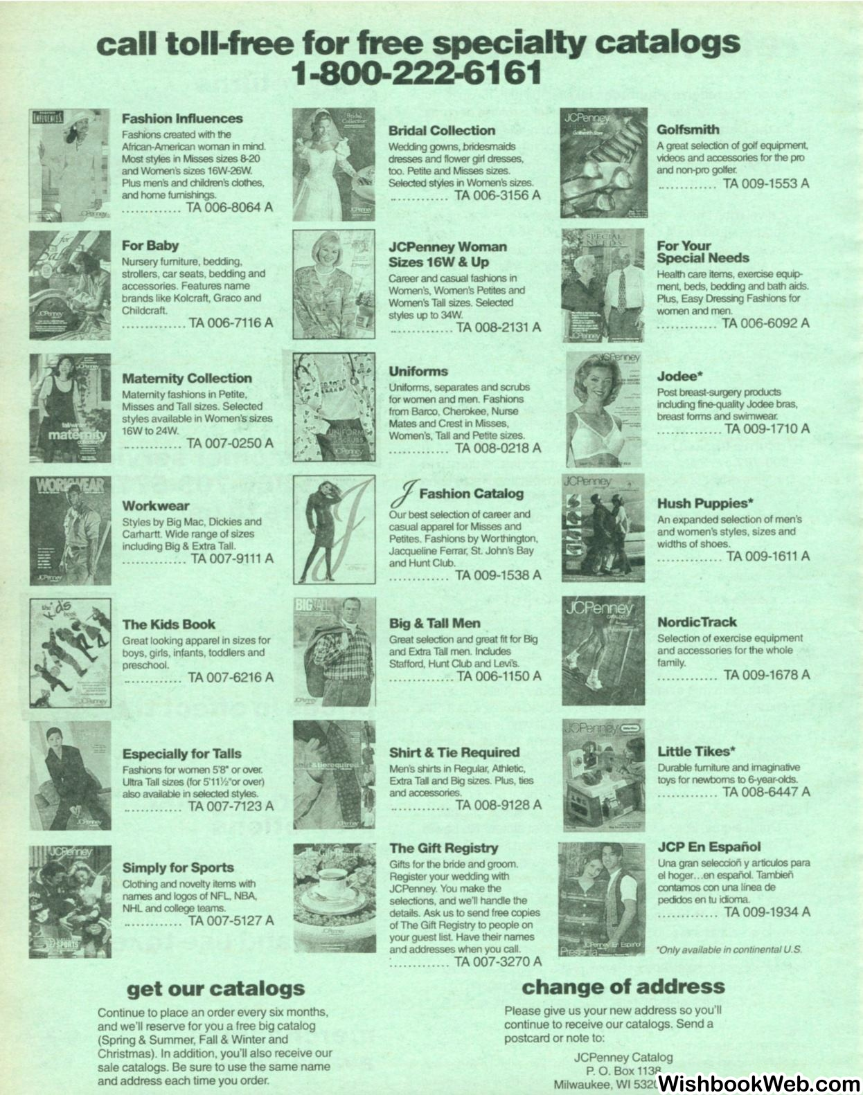1996 Jcpenney Christmas Catalog